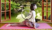Развитие женственности и асаны йоги для начинающих 4 поза Голоубя