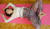 Развитие женственности и асаны йоги для начинающих 7 Бабаочка