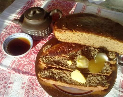 мой первый ржаной хлеб