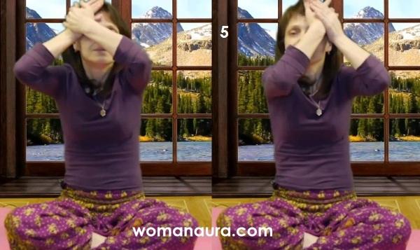Гормональная тибетская гимнастика 5