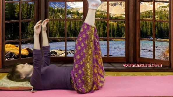 Результативная тибетская гимнастика в постели для оздоровления  и долгожительства