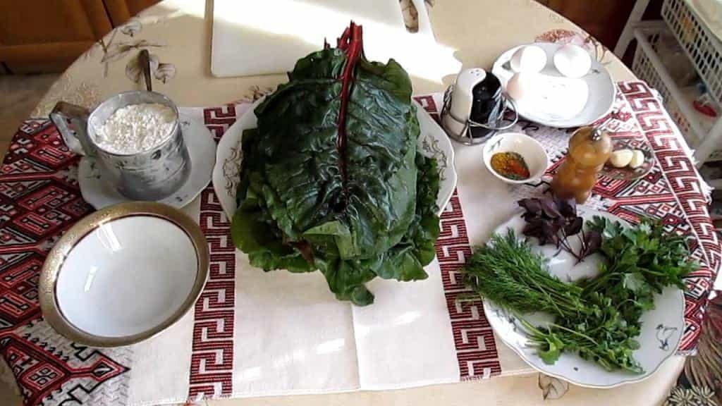 мангольд рецепты листья польза