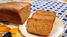 Хлеб ржано пшеничный на закваске в духовке